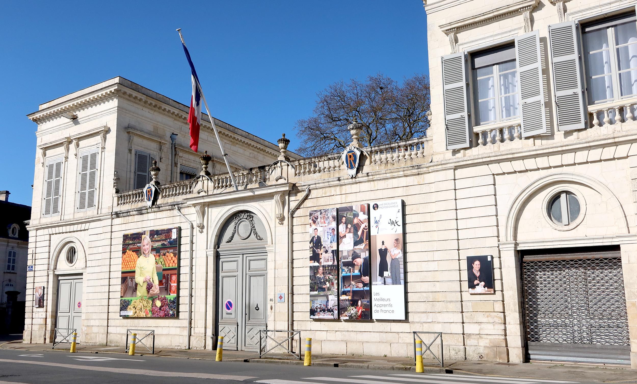 Préfecture de la Charente-Maritime. La Rochelle. Ludovic Sarrazin