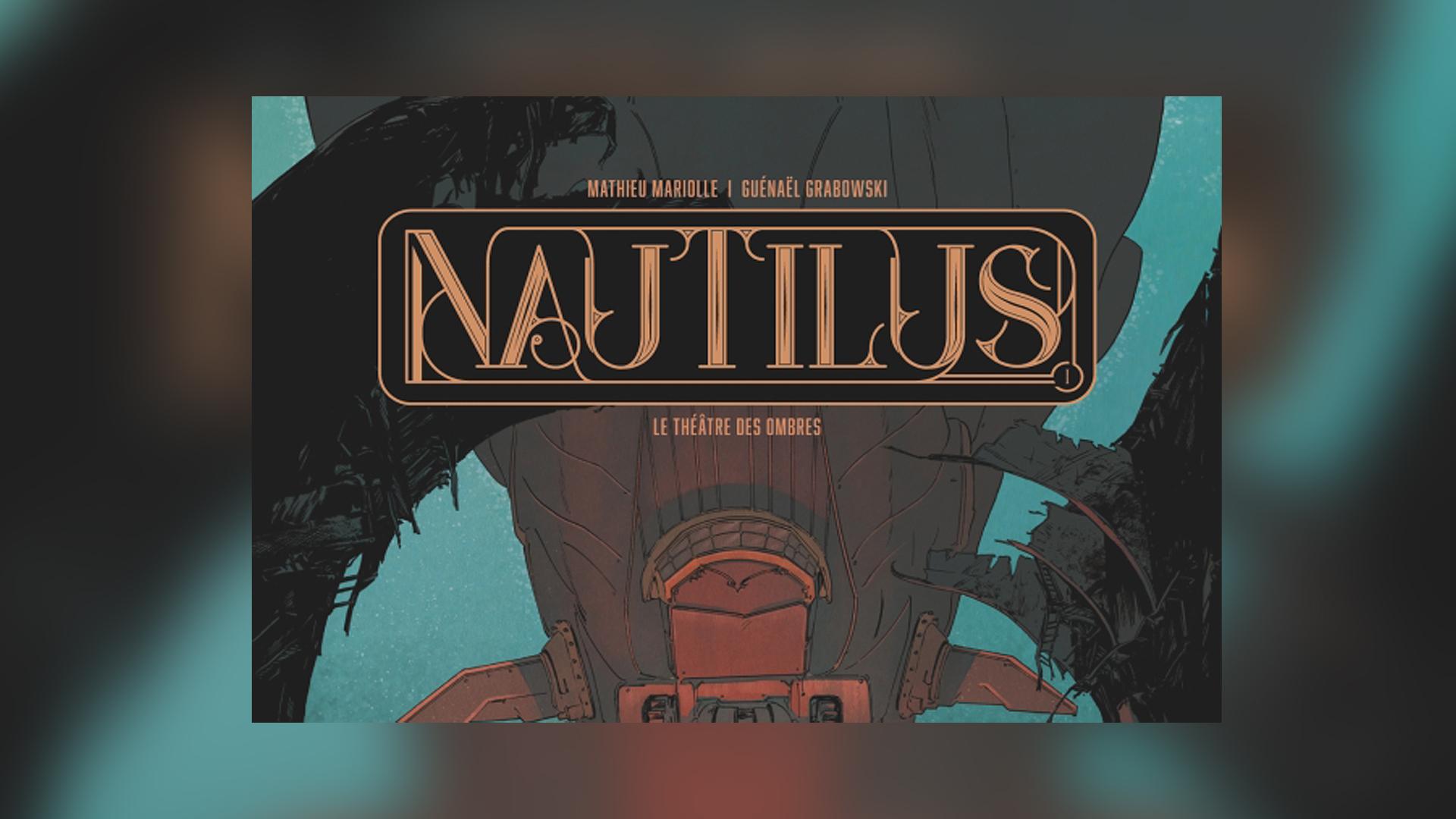 Glenat BD Nautilus le maitre des ombres. ©Glenat