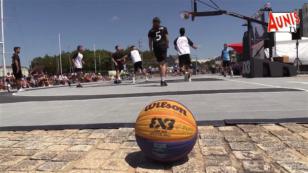 La Rochelle : le basket 3X3 à l'honneur sur l'esplanade Éric Tarbarly
