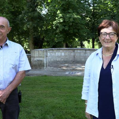 Gilles Gay et Catherine Desprez sont candidats sur le canton de Surgères pour un second mandat au Conseil départemental de la Charente-Maritime. (©Ludovic Sarrazin).