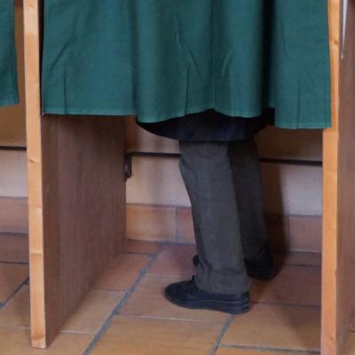 Isoloir élections ©Ludovic Sarrazin