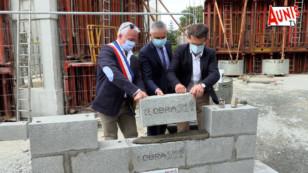 Une toute première pierre pour la nouvelle mairie d'Angliers