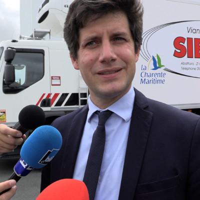 Julien Denormandie Abattoir Surgères agriculture