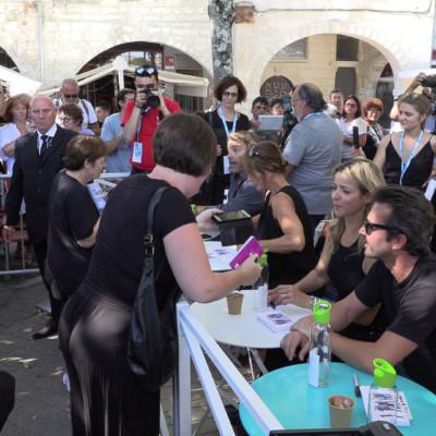 Festival de la Fiction 2019. Séance de dédicaces à La Rochelle