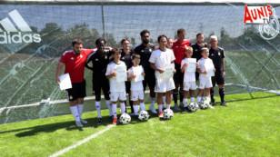 Le Réal Madrid au stade du Football Club de Périgny